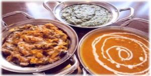 野菜カレー料理