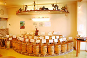 コーヒー豆の陳列1