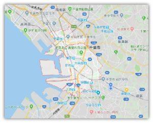 くる福ガーデナーズの対応エリア 千葉市中央区